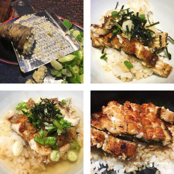 「鰻満(まんまん)」ひつまぶしの食べ方