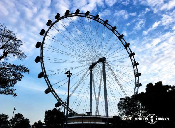 アジア最大級の観覧車「シンガポール・フライヤー」