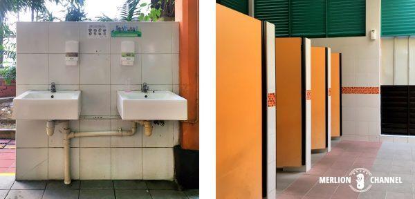 マックスウェルフードセンターのトイレ