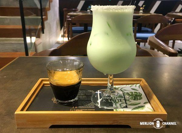 Mellower Coffeeのオンデ・ラテ