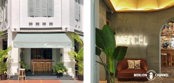 「メルシー・マルセル(Merci Marcel)」のクラブストリート店とオーチャード店