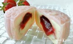 ストロベリー・ラヴァ月餅