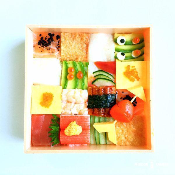 Sakae Sushiのモザイク寿司