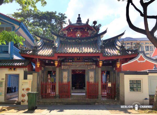 歴史的建造物である「崇文閣(Chong Wen Ge)」の外観