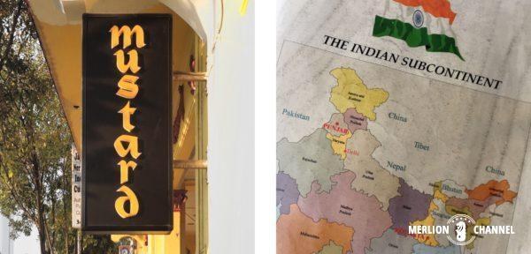 Mustardはパンジャーブ&ベンガル地方のインド料理店