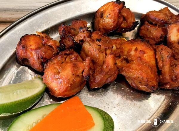 「ムトゥース・カリー(Muthu's Curry)」のチキンティッカ