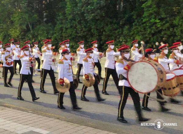 ナショナルデーの儀礼パレード