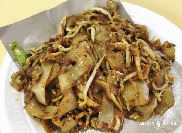 オールドエアポートロード・フードセンター「Lao Fu Zi Fried Kway Teow」