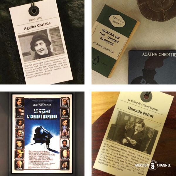 「オリエント急行展」アガサ・クリスティのミステリー小説『オリエント急行の殺人』