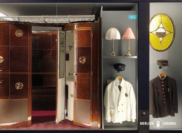 「オリエント急行展」調度品や制服も陳列