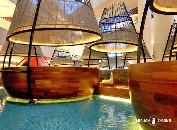 パンパシフィック・シンガポールホテル(Pan Pacific Singapore)のAtriumのポッド