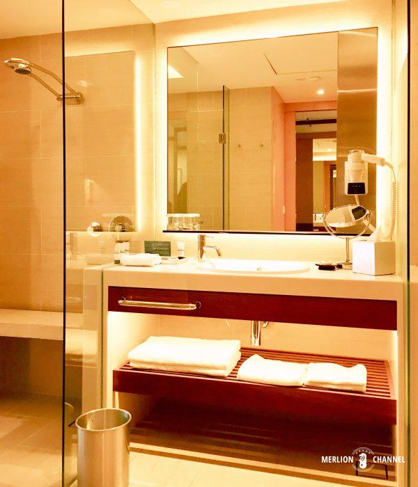 パンパシフィック・シンガポールホテル(Pan Pacific Singapore)のバスルーム
