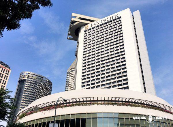 パンパシフィック・シンガポールホテル(Pan Pacific Singapore)の外観