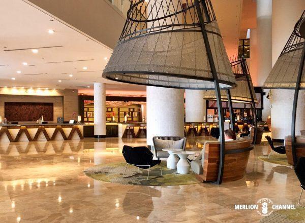パンパシフィック・シンガポールホテル(Pan Pacific Singapore)のロビー