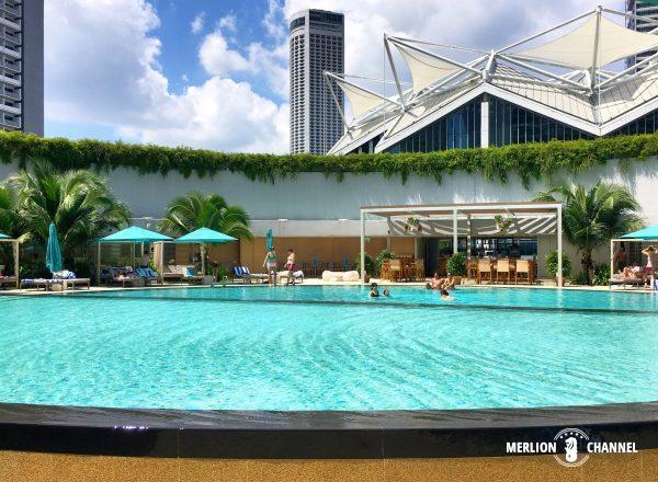 パンパシフィック・シンガポールホテル(Pan Pacific Singapore)のプール