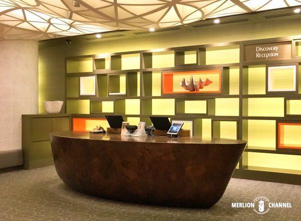 パンパシフィック・シンガポールホテル(Pan Pacific Singapore)のレセプション