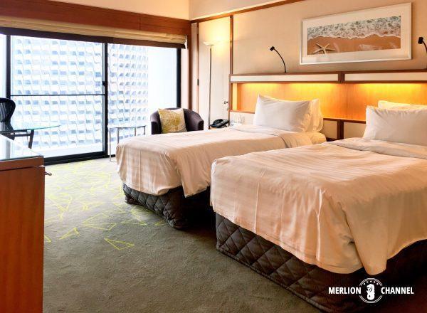 パンパシフィック・シンガポールホテル(Pan Pacific Singapore)のデラックスルーム(Deluxe Room)