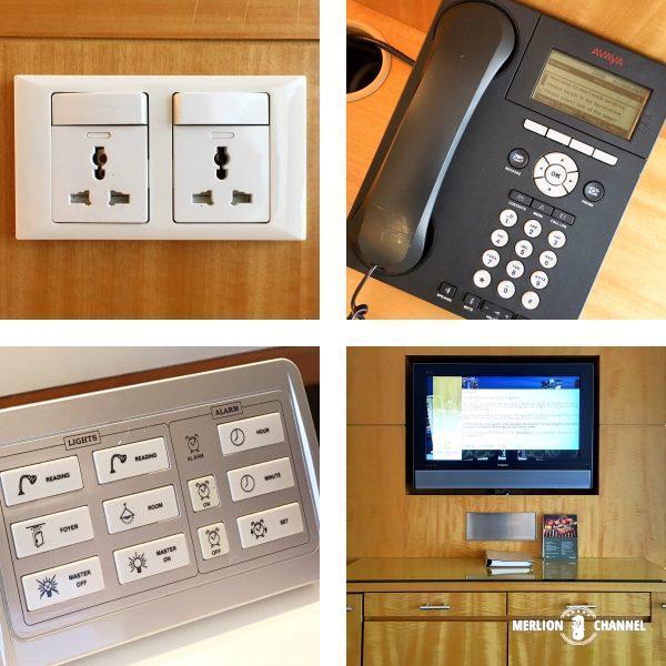パンパシフィック・シンガポールホテル(Pan Pacific Singapore)の部屋設備
