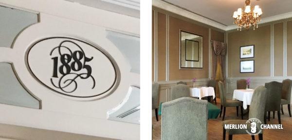 イースタン・アンド・オリエンタルホテルのレストラン「The 1885」