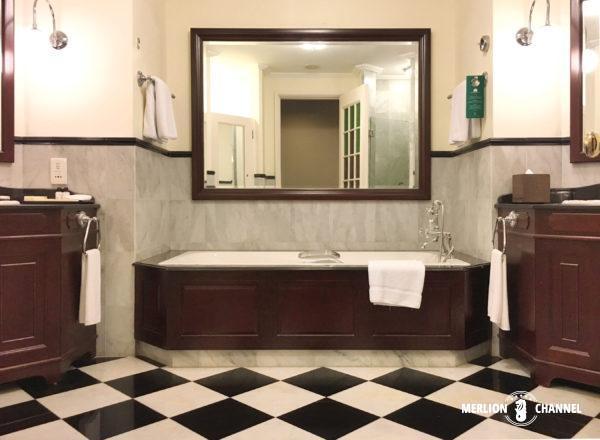 イースタン・アンド・オリエンタルホテルのバスルーム