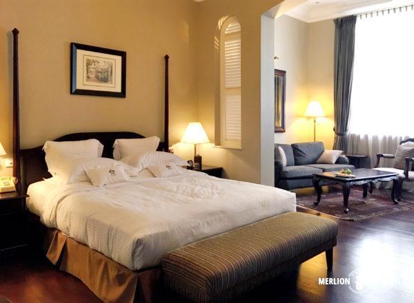イースタン・アンド・オリエンタルホテルの本館の部屋