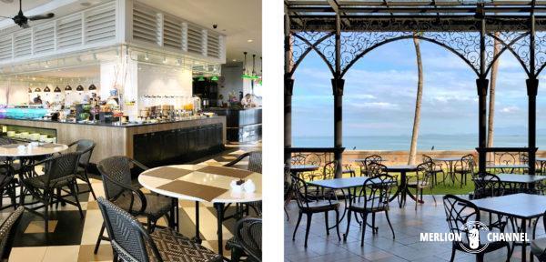 イースタン・アンド・オリエンタルホテルの朝食レストラン「Sarkies」