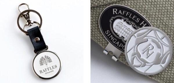 ラッフルズ・ブティックお土産「ボールペン」や「ゴルフグッズ」など