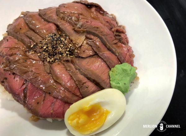三代目文治の「ローストビーフ丼」