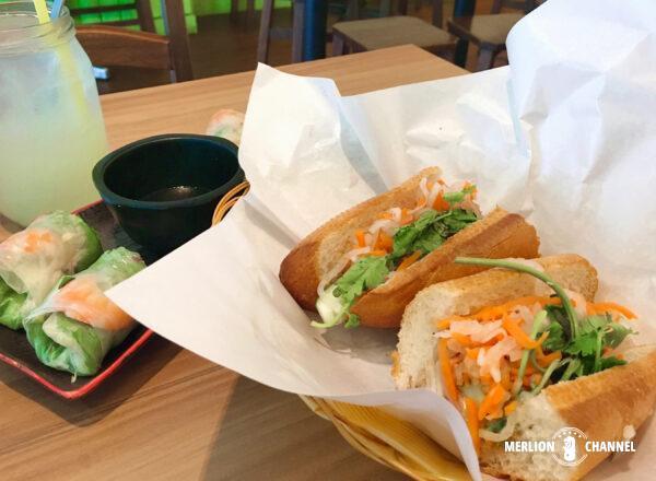 「サンドウィッチサイゴン(Sandwich Saigon)」のバインミー