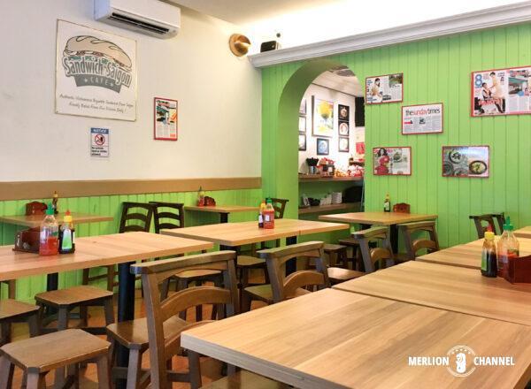 「サンドウィッチサイゴン(Sandwich Saigon)」の店内