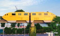 セントーサエクスプレスのモノレール車両