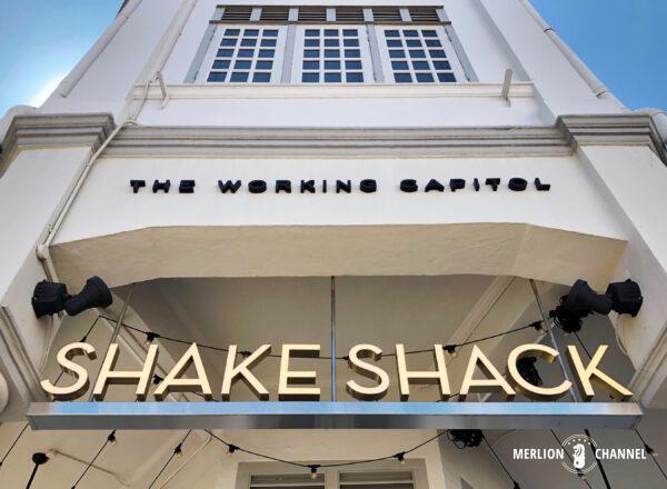 「シェイク・シャック(Shake Shack)」看板
