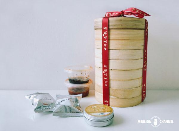 「四川豆花飯荘」の飲茶セット