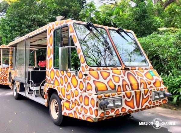 シンガポール動物園の園内トラム