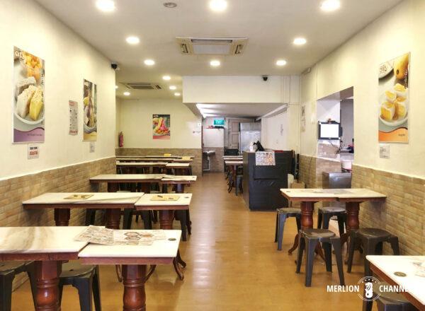 「味香園(Mei Heong Yuen Dessert)」の店内