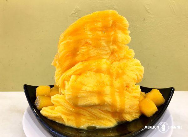味香園のマンゴースノーアイス