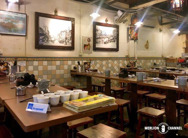 シンガポールの有名店「松發肉骨茶(ソンファバクテー)」の店内