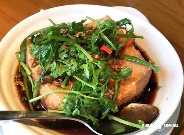 スープレストランの揚げ出し豆腐
