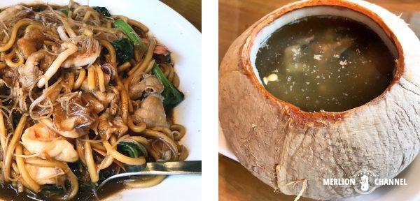 スープレストランのペナンヌードル&スープ