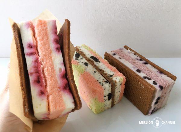 スターバックスのサンドイッチ・チーズケーキ