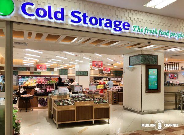 シンガポールのスーパーマーケット:コールドストレージ