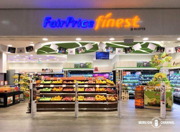 シンガポールのスーパーマーケット:フェアプライス