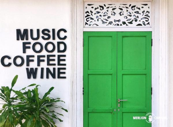 「シンメトリー(Symmetry)」のMusic, Food, Coofee, Wineの文字