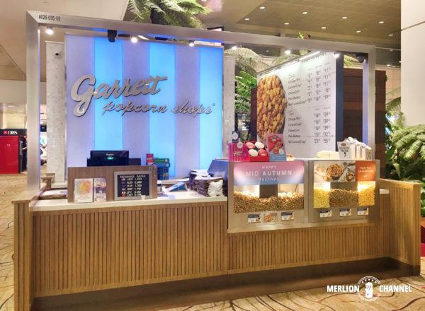 チャンギ空港ターミナル2にある「ギャレット」の店舗
