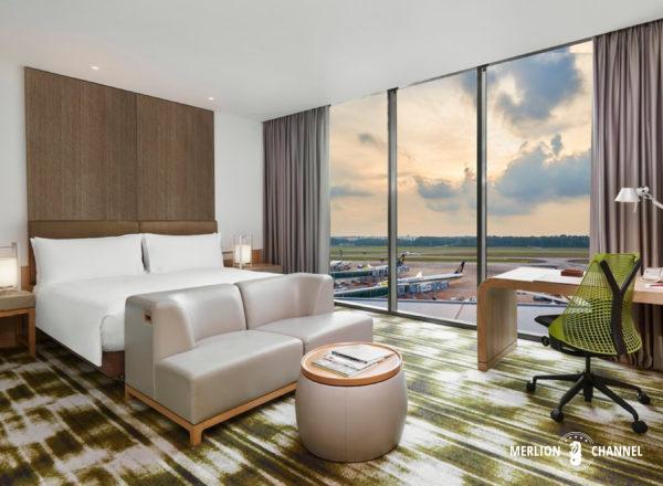 クラウンプラザ・チャンギエアポート・ホテルの部屋