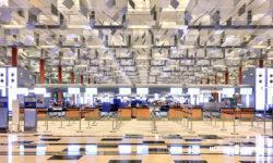 チャンギ空港ターミナル3の2階「出発フロア」