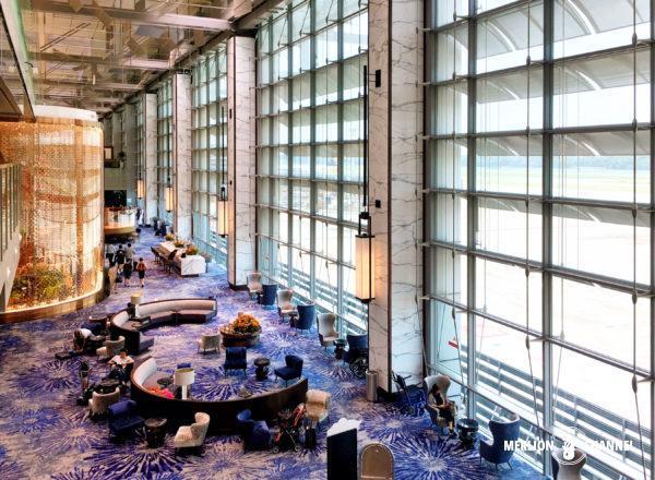 チャンギ空港ターミナル3の「トランジットエリア」