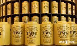 TWGのシンボリックなイエローの紅茶缶
