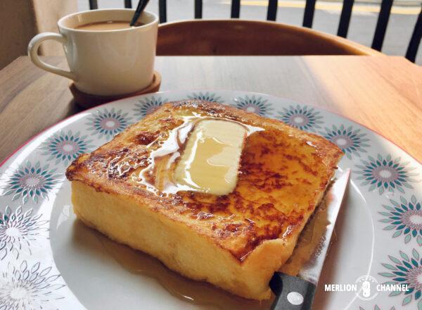 「泰昌餅家(Tai Cheong Bakery)」のフレンチトースト