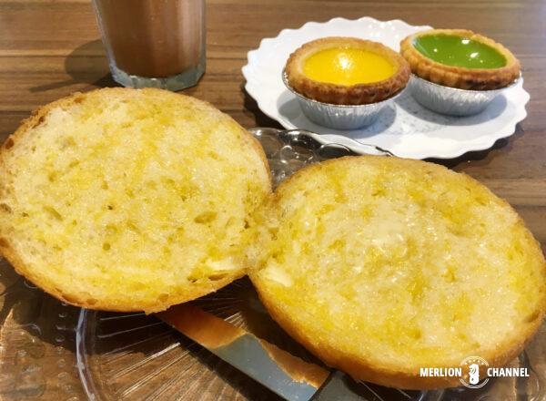 「泰昌餅家(Tai Cheong Bakery)」のトースト・バン